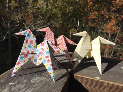 origami-chevaux